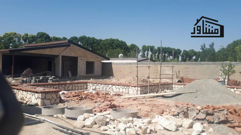 باغ ویلا در حال ساخت زیر قیمت بازار